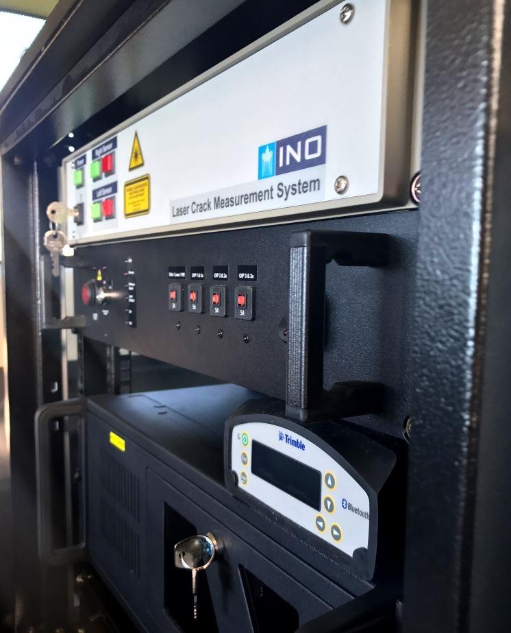 Laser Crack Measurement System (LCMS) | Automated Road Survey